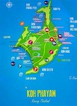 Amplia el Mapa-de-Koh-Phayam