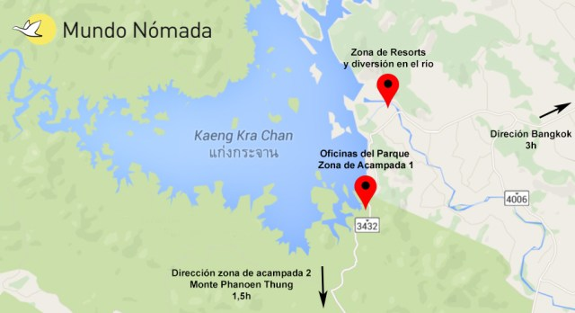 Mapa-zona-del-Lago-de-Kaeng-Krachan