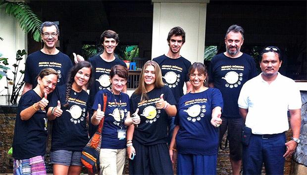 Grupo de viaje a Tailandia