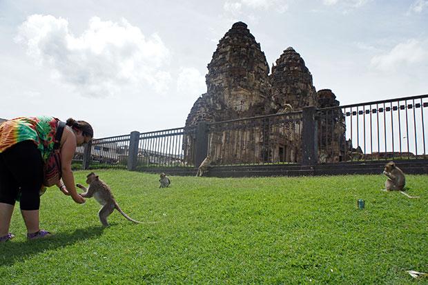Templos-de-los-monos-de-Lopburi