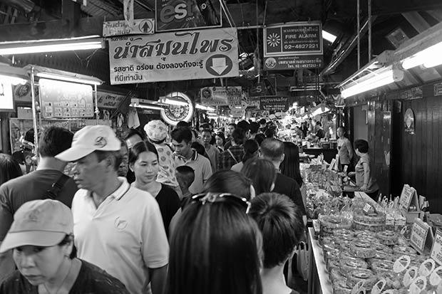 El mercado flotante de Don Wai
