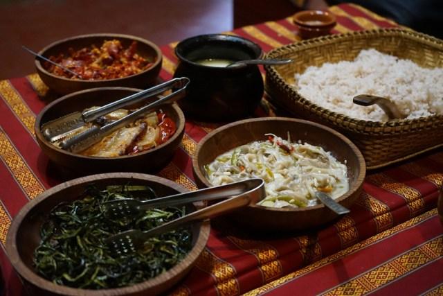 Comida de butan