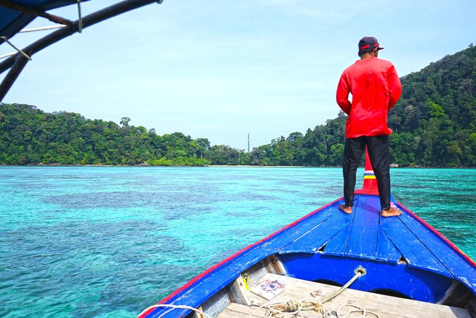 las islas de Koh Surin