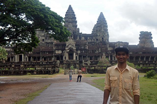 Guía de habla hispana en Angkor Wat