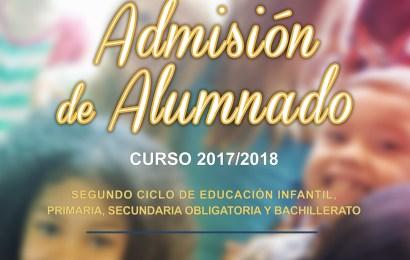 Adjudicación Provisional admisión 2017/2018