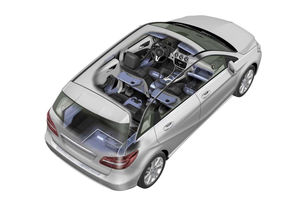 20 mercedes benz b class b 200 cdi blueefficiency interior mundoautomotor. Black Bedroom Furniture Sets. Home Design Ideas