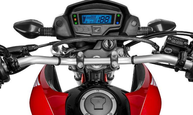 Nova Honda Bros 160 - Painel