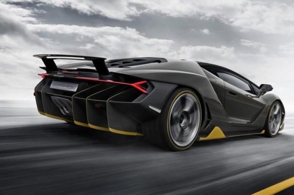 Lamborghini Centenario - Traseira