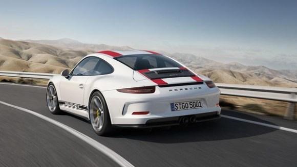 Porsche 911 R - Traseira