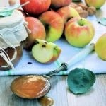 Geleia de maçã diet
