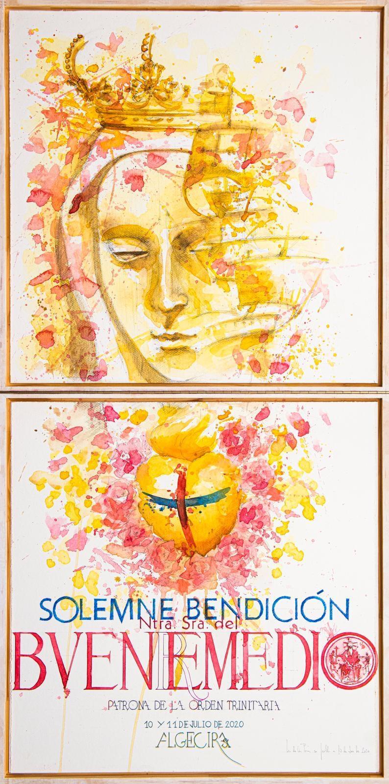 Presentado el Cartel de la Bendición de Nuestra Señora del Buen Remedio de Algeciras