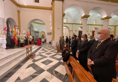 Celebrada la Eucaristía en Honor a Santa Barbara con la presencia de los Artilleros del Campo de Gibraltar