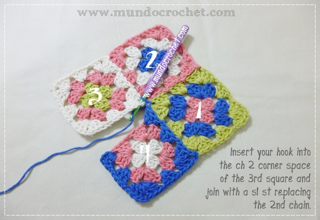 How to join granny squares14