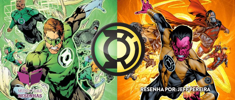Resenha – A Guerra dos Anéis (Sinestro Corps War)