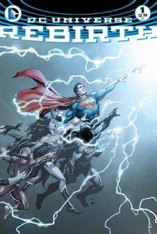 Capa original da Rebirth, da DC Comics