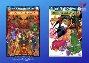 (HQ) Jovens Titãs/Novos Titãs: DC Renascimento 1-19