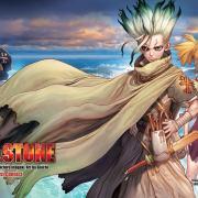 Resenha: Dr. Stone (1ª Temporada) Você vai gostar desse anime, com 10 Bilhões de % de certeza!