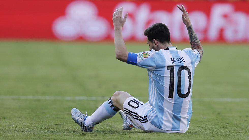 Messi, decepcionado tras un nuevo fiasco en la Copa América