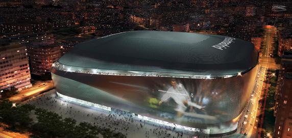 El Real Madrid ha presentado el proyecto del nuevo estadio del Santiago Bernabéu. realmadrid.com
