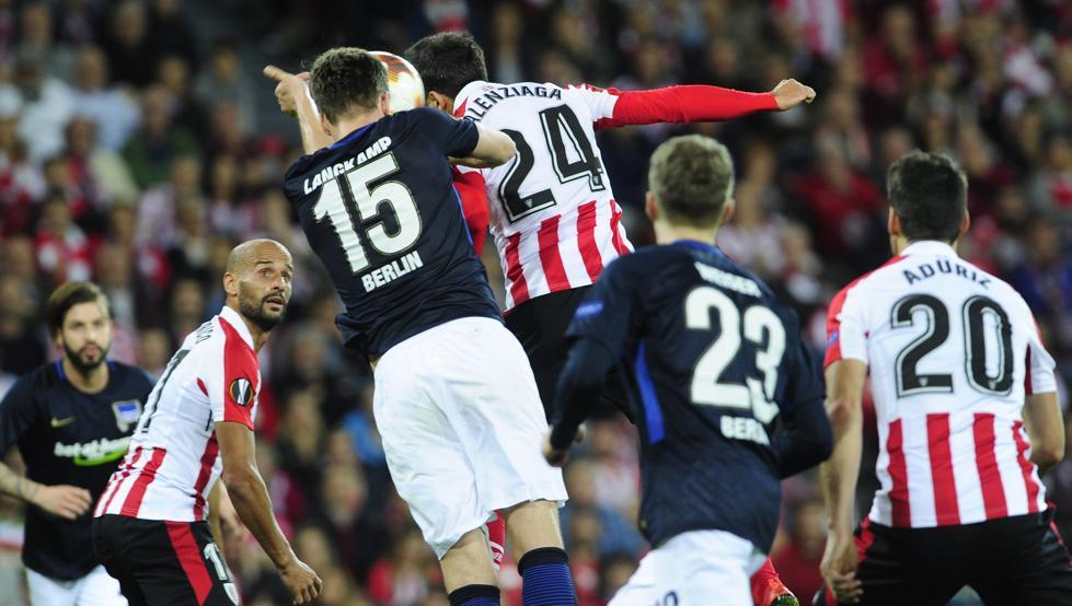 El Athletic-Hertha mantuvo la emoción hasta el final