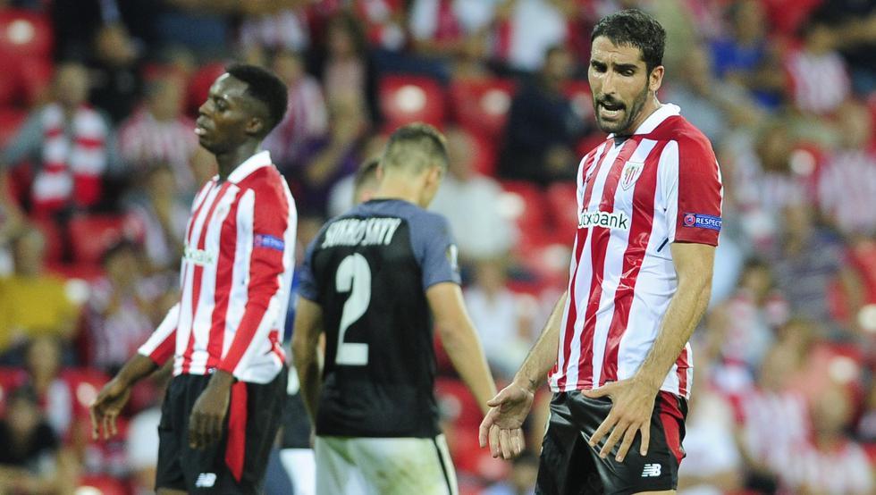 El Zorya ganó al Athletic en San Mamés (0-1)