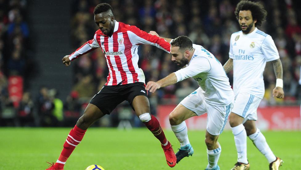 Athletic y Real Madrid empataron el sábado en San Mamés