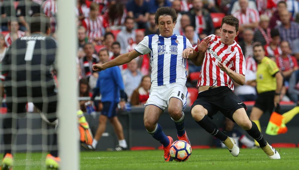 Athletic y Real se enfrentan mañana en San Mamés