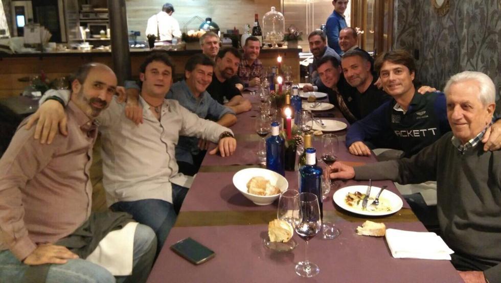 Reencuentro anual del equipo juvenil que ganó la Liga y la Copa hace 25 años