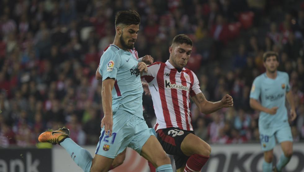 """Unai Núñez se sienta """"más maduro"""" después de sus 17 partidos completos en Primera."""