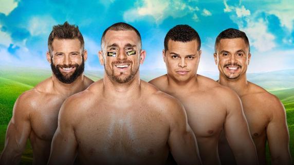 The Hype Bros vs The Colons FOTO: wwe.com