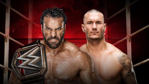 Jinder Mahal vs Randy Orton