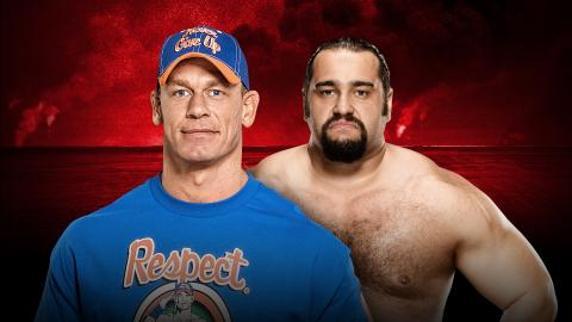 John Cena vs Rusev