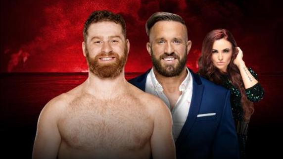 Sami Zayn vs Mike Kanellis