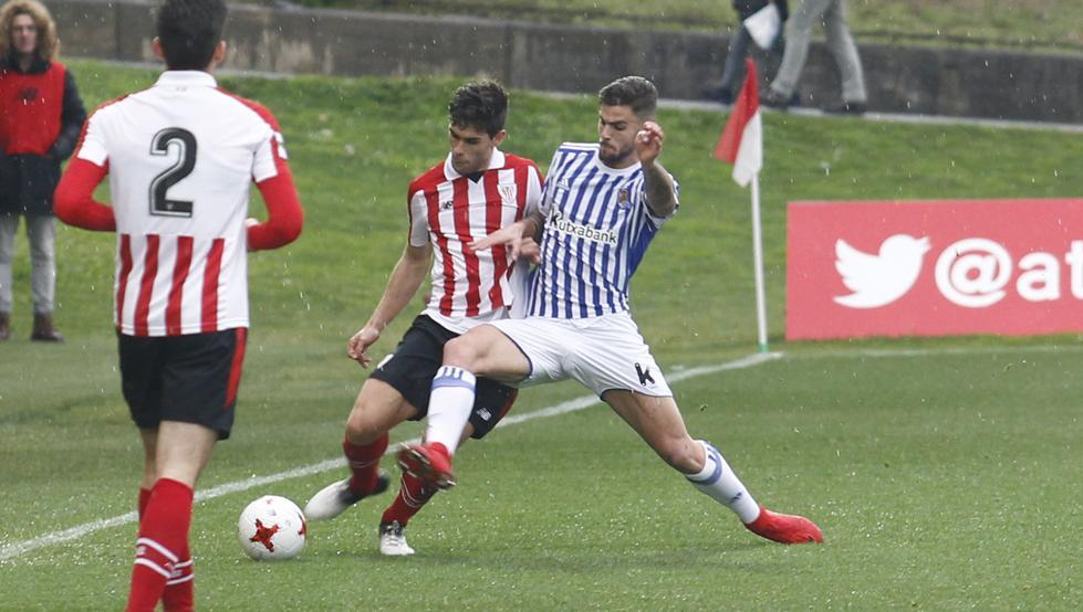 Óscar Gil ya ha debutado esta temporada con el primer equipo rojiblanco
