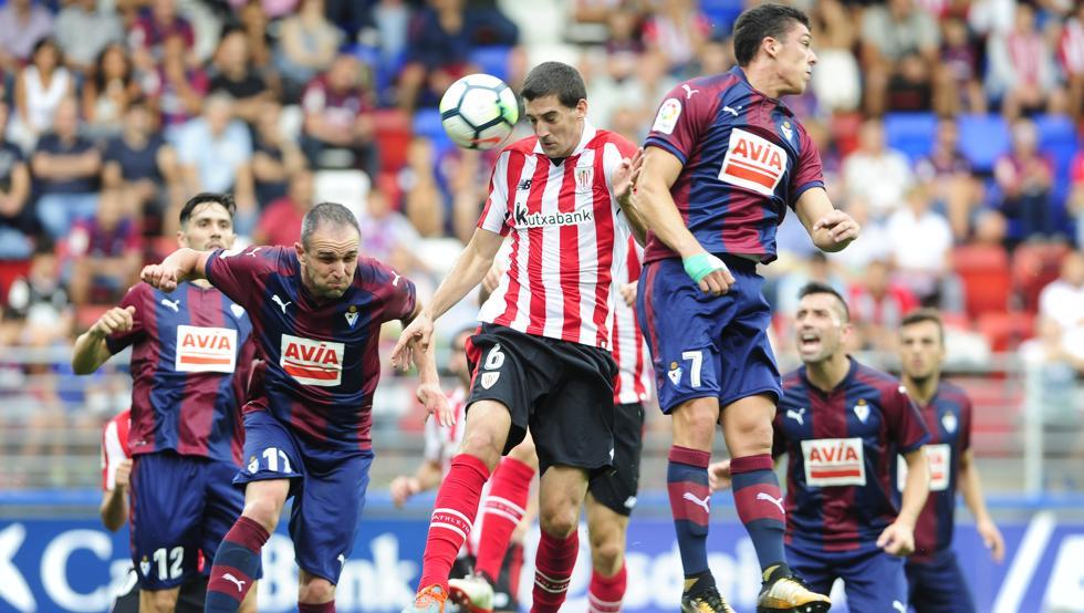 El Athletic ganó en Eibar en el partido de la primera vuelta