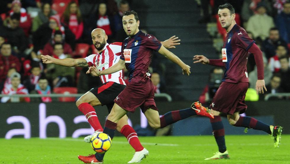Mikel Rico reconoció que el partido ante el Eibar no había sido bueno.
