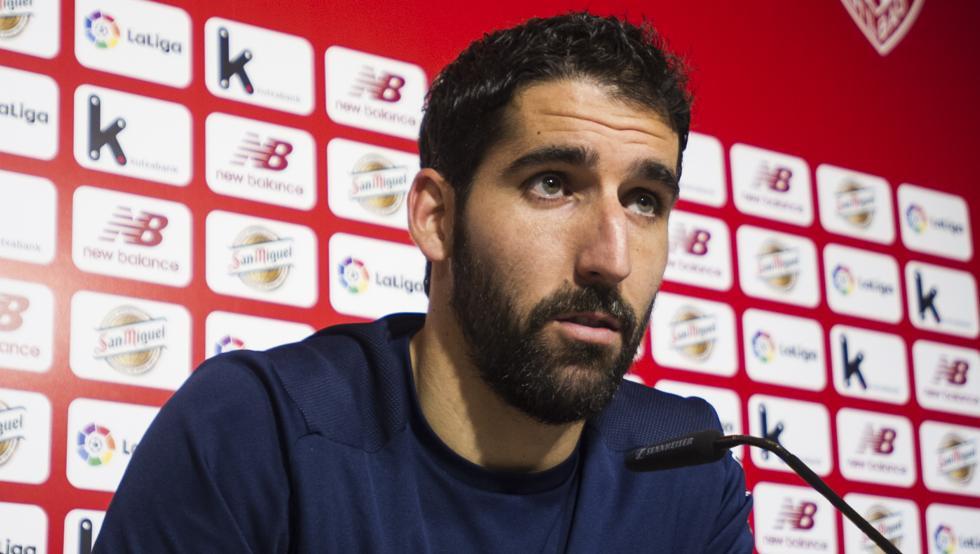 Raúl García analiza en Lezama la visita al Spartak de Moscú.