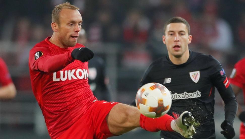 El Athletic derrotó al Spartak de Moscú el pasado jueves por 1-3