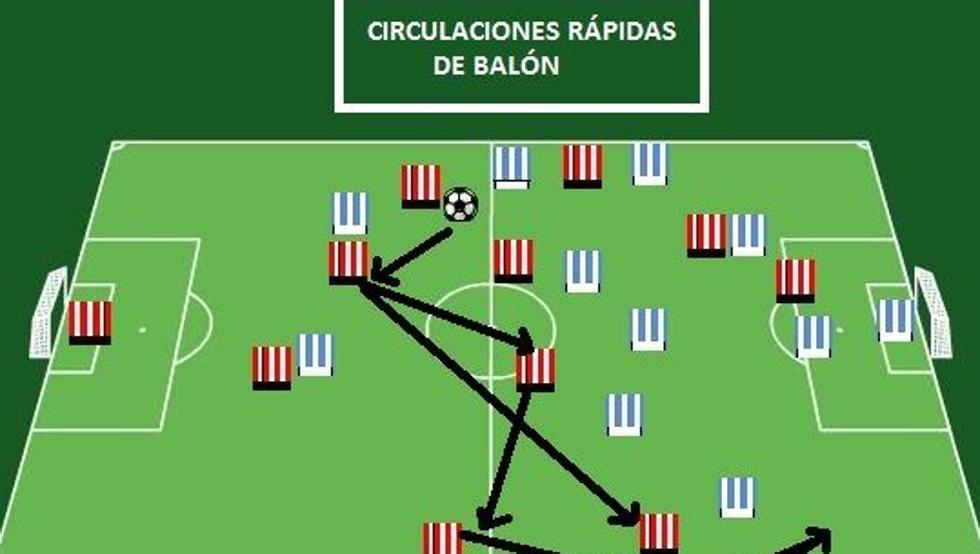 El Athletic debe tocar el balón con fluidez para superar al Málaga
