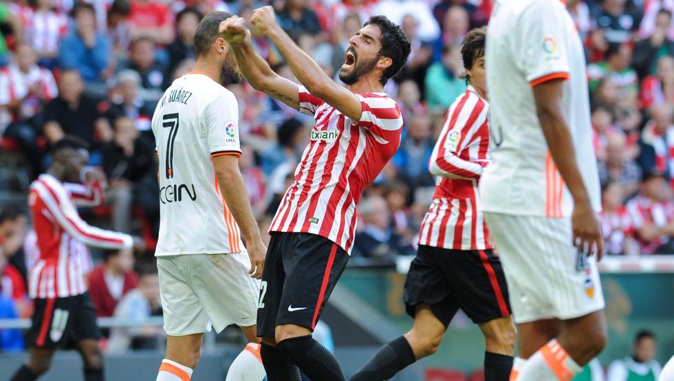 El Athletic se impuso la pasada campaña al Valencia en San Mamés