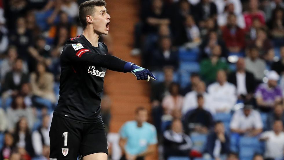 Kepa se salió en el Santiago Bernabéu