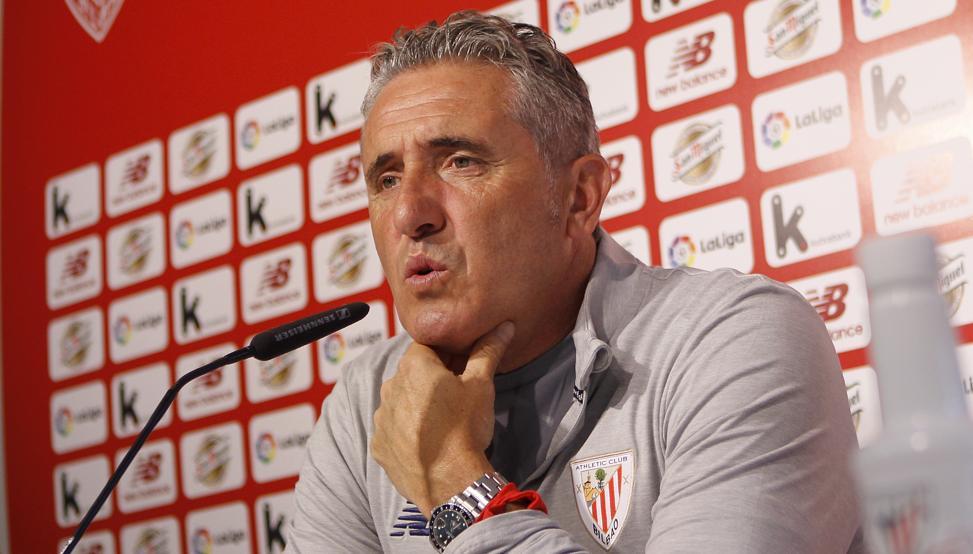 Joseba Aguirre, entrenador del Athletic