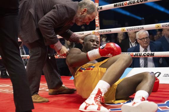 Era la décima defensa del título semipesado para Stevenson, de 41 años