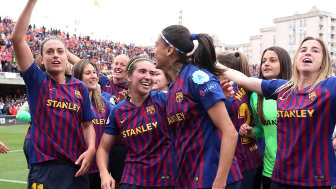 """El Barça femenino lo tiene claro: """"Disfrutar y a ganar"""""""