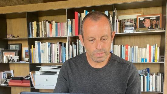 """Sandro Rosell: """"En la cárcel, el primer día, nos dieron cuatro ..."""