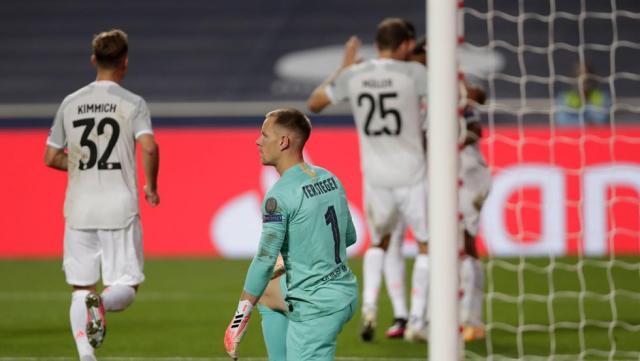 Las palabras de Ter Stegen tras la debacle del Barcelona contra el Bayern