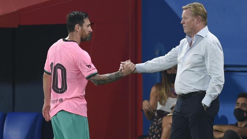 Koeman desgrana todo su pensamiento sobre Messi