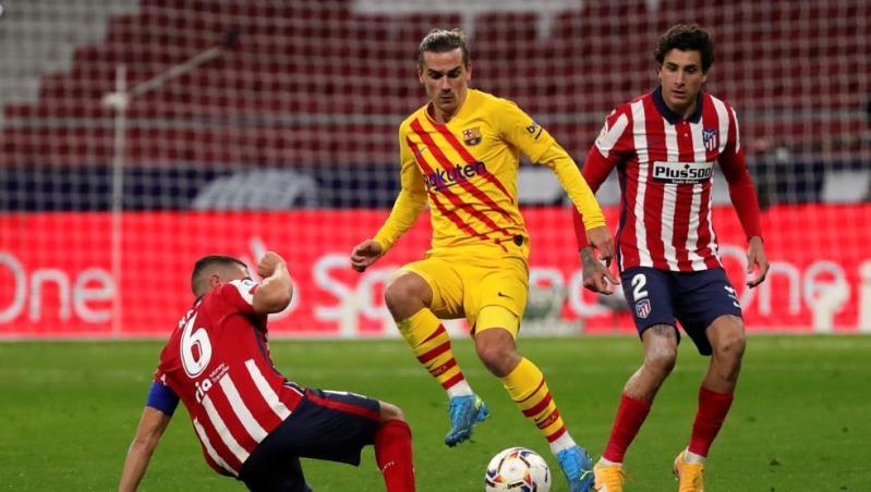 Atlético - Barcelona, en directo   Resultado y goles