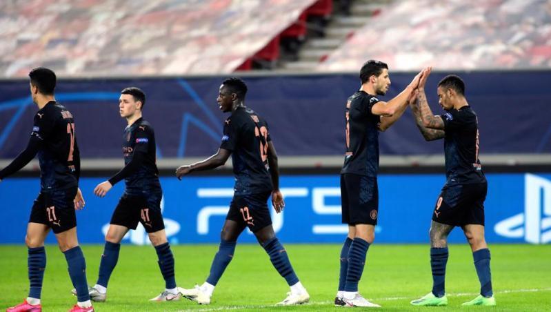 El Manchester City obtiene el billete a octavos ante el Olympiacos