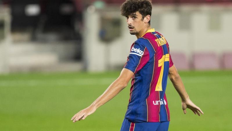 Trincao presume de su nuevo hogar en Barcelona